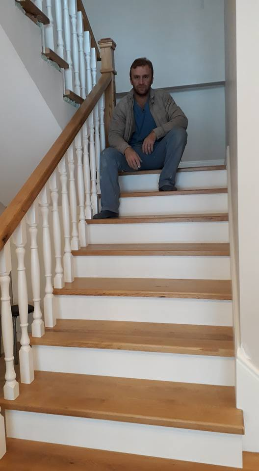 Ahşap Merdiven Ve Korkuluklar