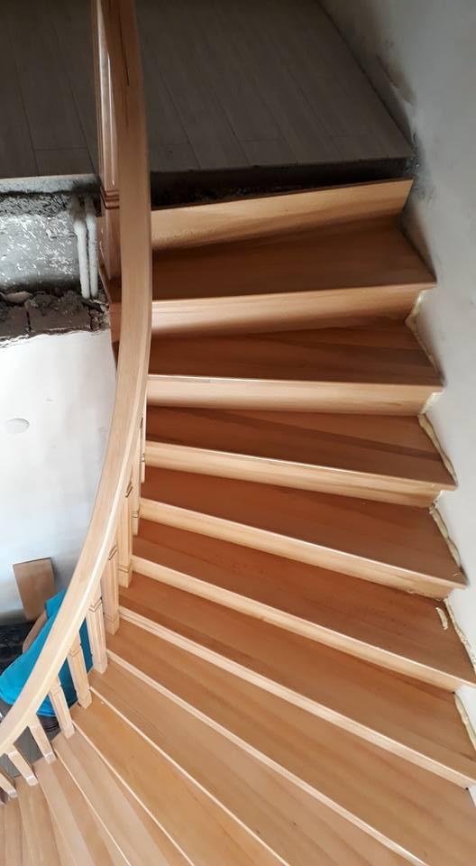 Ahşap Merdiven 11